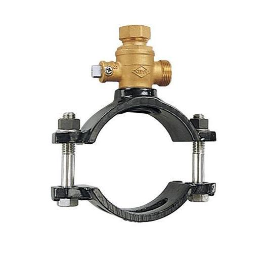 Ⅱ型・B型 サドル付分水栓