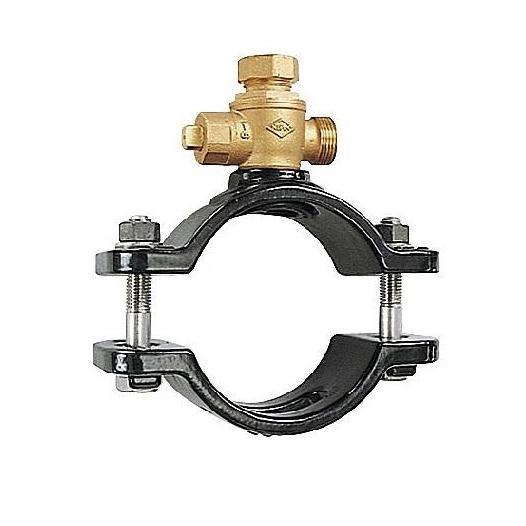 JWWA規格 サドル付分水栓